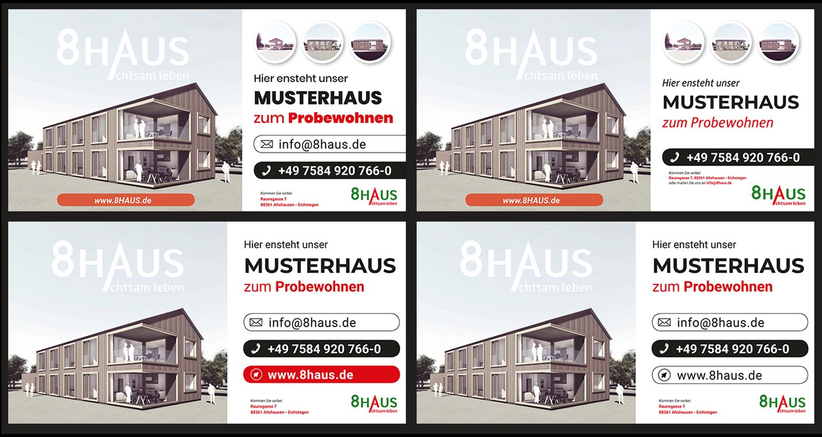 8HAUS_Bauzaunbanner_Entwürfe